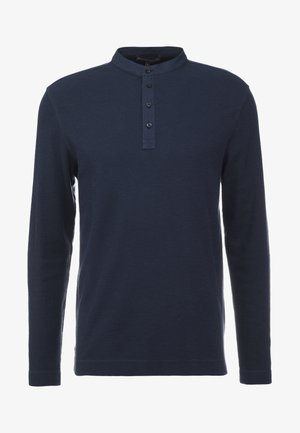 LENIUS - Long sleeved top - navy