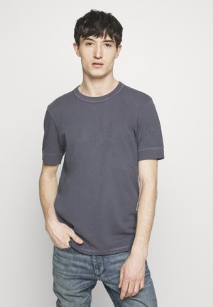 RAPHAEL - Basic T-shirt - blaugrau