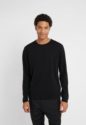 YOSHI - Bluzka z długim rękawem - black
