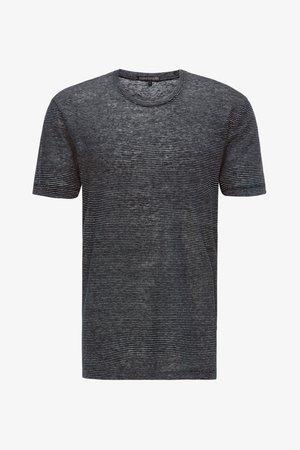 CARLO - Print T-shirt - blue