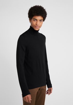 JOEY - Stickad tröja - black