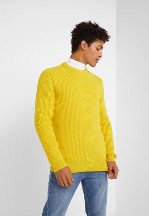 HENDRY - Strikkegenser - yellow
