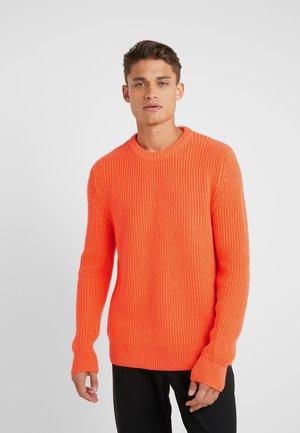 HENDRY - Pullover - orange