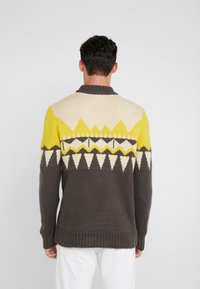 DRYKORN - ZAYN - Jumper - beige/grey/yellow - 2