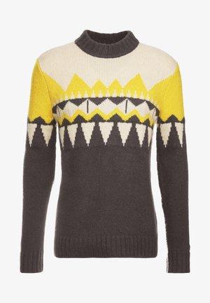 ZAYN - Svetr - beige/grey/yellow