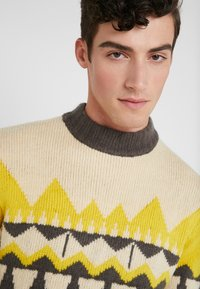 DRYKORN - ZAYN - Jumper - beige/grey/yellow - 4