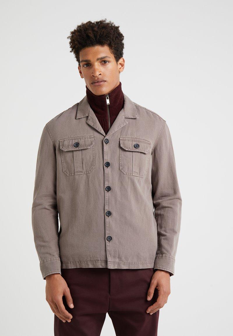 DRYKORN - CRIM - Denim jacket - brown