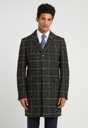 BLACOT - Płaszcz wełniany /Płaszcz klasyczny - anthra/yellow