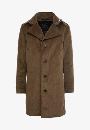 BROSKKO - Płaszcz wełniany /Płaszcz klasyczny - khaki
