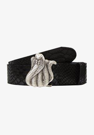 SNAKE BITE - Belt - black