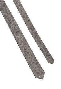 DRYKORN - TIE SLIM - Krawatte - silver grey - 3