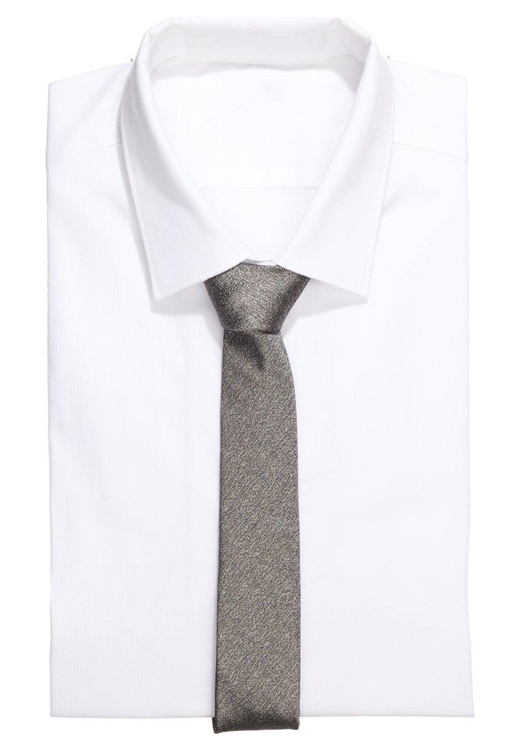 DRYKORN - TIE SLIM - Krawatte - silver grey