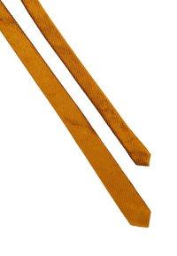 DRYKORN - TIE SLIM - Tie - gold - 2