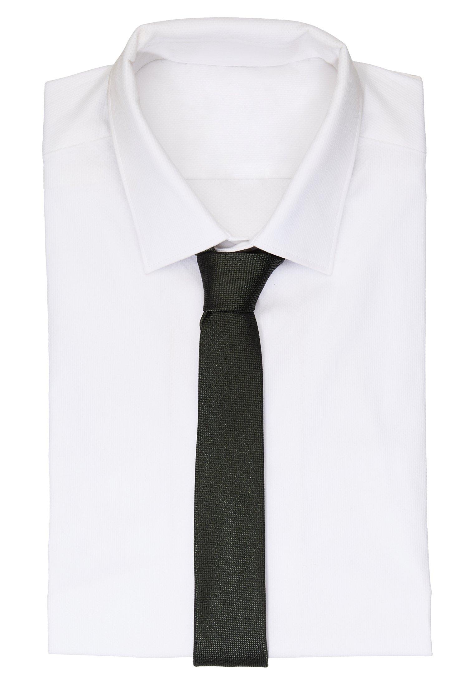 Drykorn Tie Slim - Slips Khaki