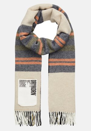 OSBY - Scarf - beige/blue/brown