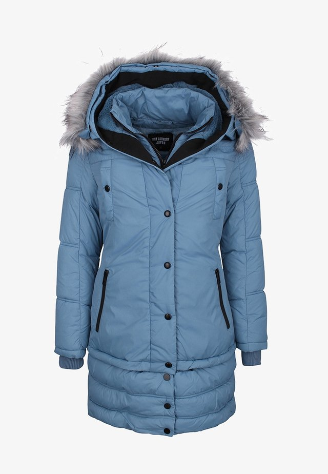 Wintermantel - blue