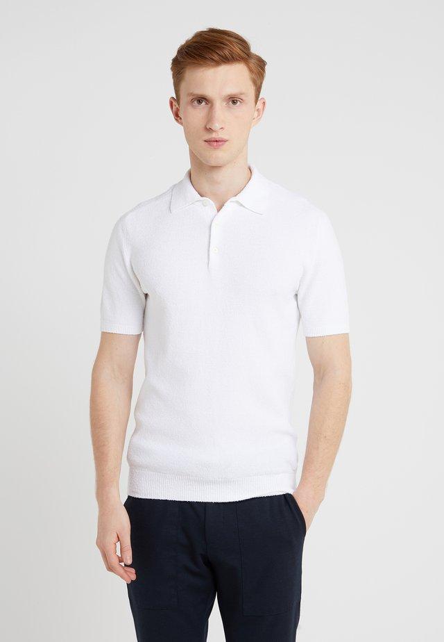 SPUGNA - Polo - white