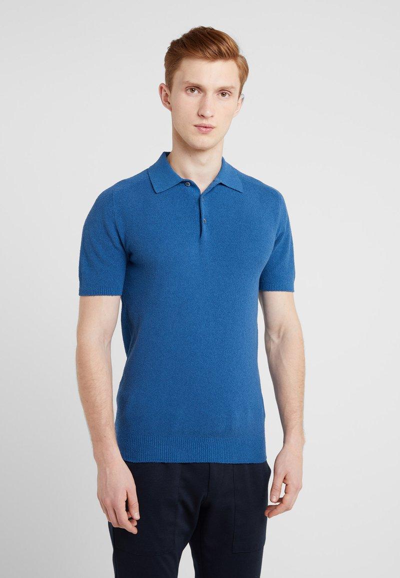 Drumohr - SPUGNA - Poloshirt - blue