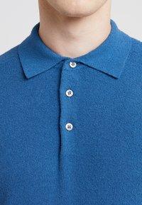 Drumohr - SPUGNA - Poloshirt - blue - 4