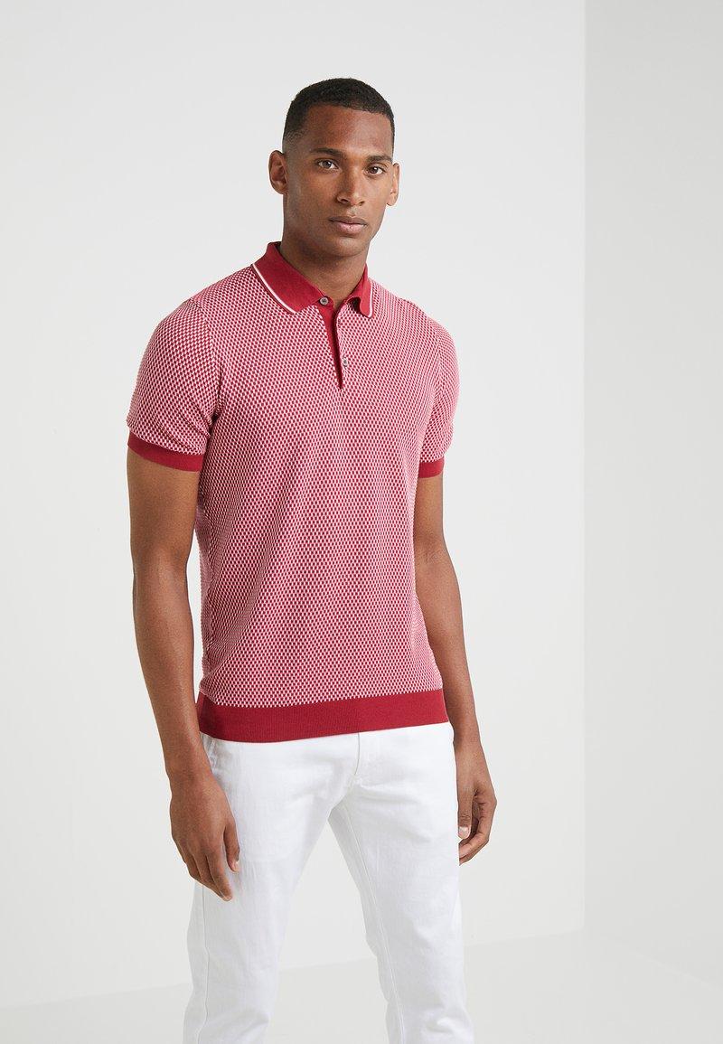 Drumohr - Poloshirt - red