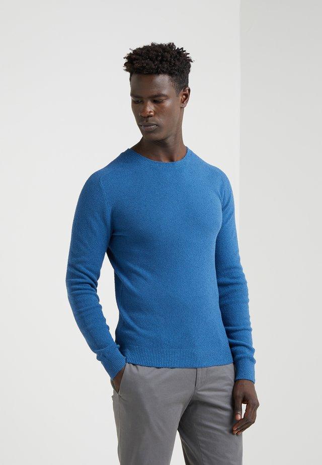 FELPA SPUGNA - Strickpullover - blue
