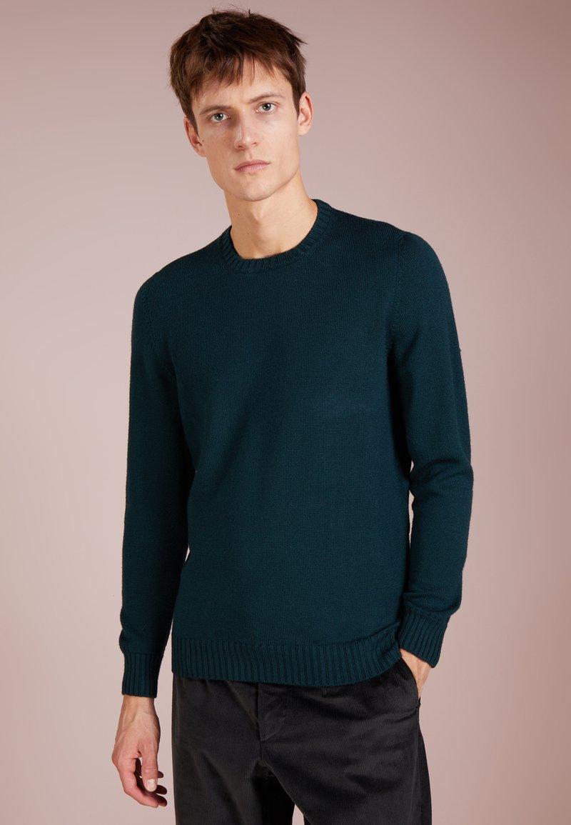 Drumohr - CREWNECK - Pullover - dark green
