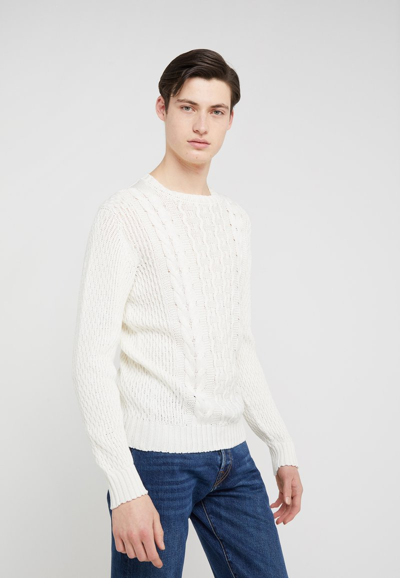 Drumohr - SWEATER - Neule - white