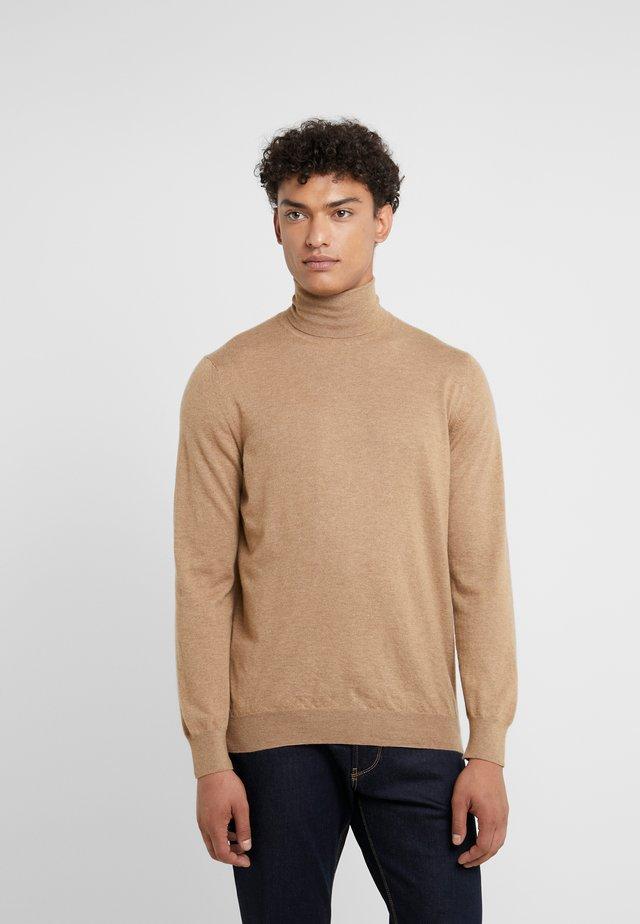 TURTLE NECK - Strickpullover - beige