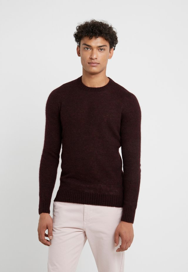 CREW NECK - Strikpullover /Striktrøjer - brown