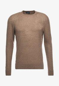 Drumohr - CREW NECK - Stickad tröja - beige - 5