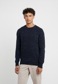 Drumohr - CREW NECK - Jumper - blue - 0