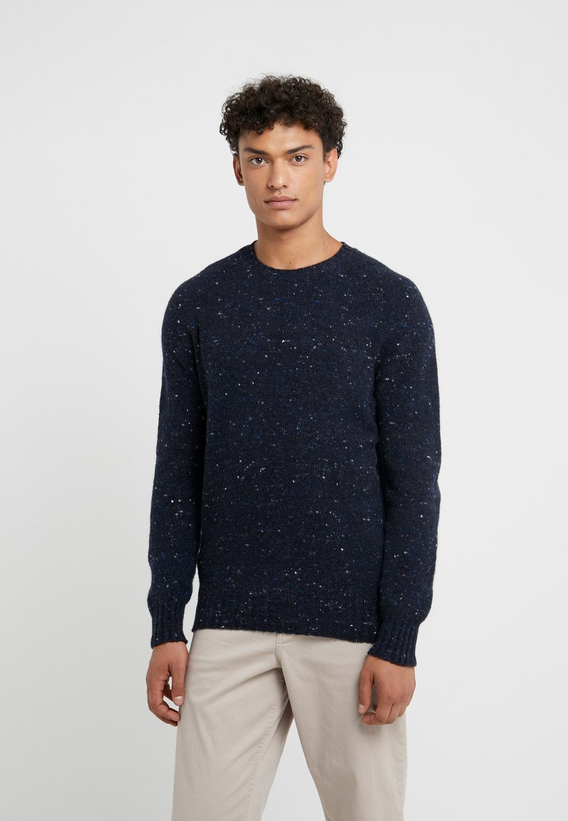 Drumohr - CREW NECK - Jumper - blue