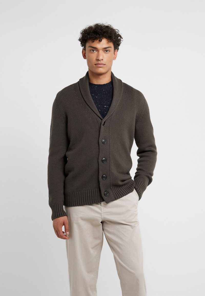 Drumohr - Cardigan - brown