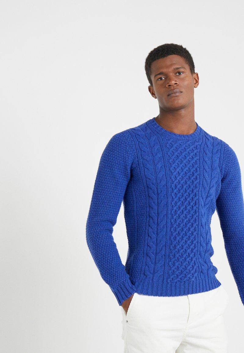 Drumohr - CREW NECK - Jumper - blue