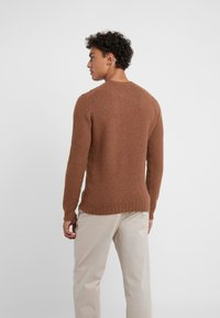 Drumohr - CREW NECK - Jumper - brown - 2