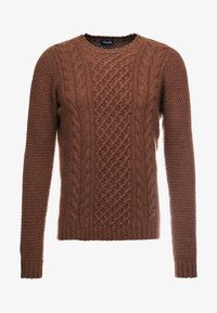 Drumohr - CREW NECK - Jumper - brown - 4