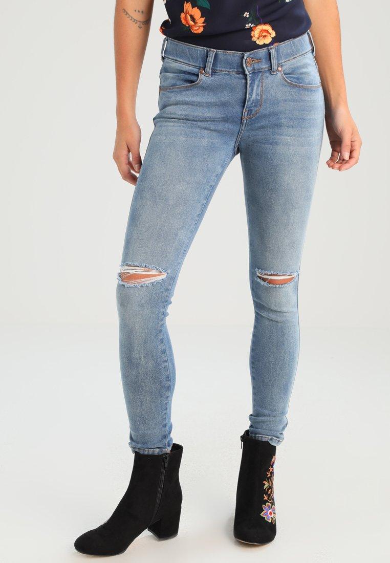 Dr.Denim Petite - Jeans Skinny - light stone destroyed
