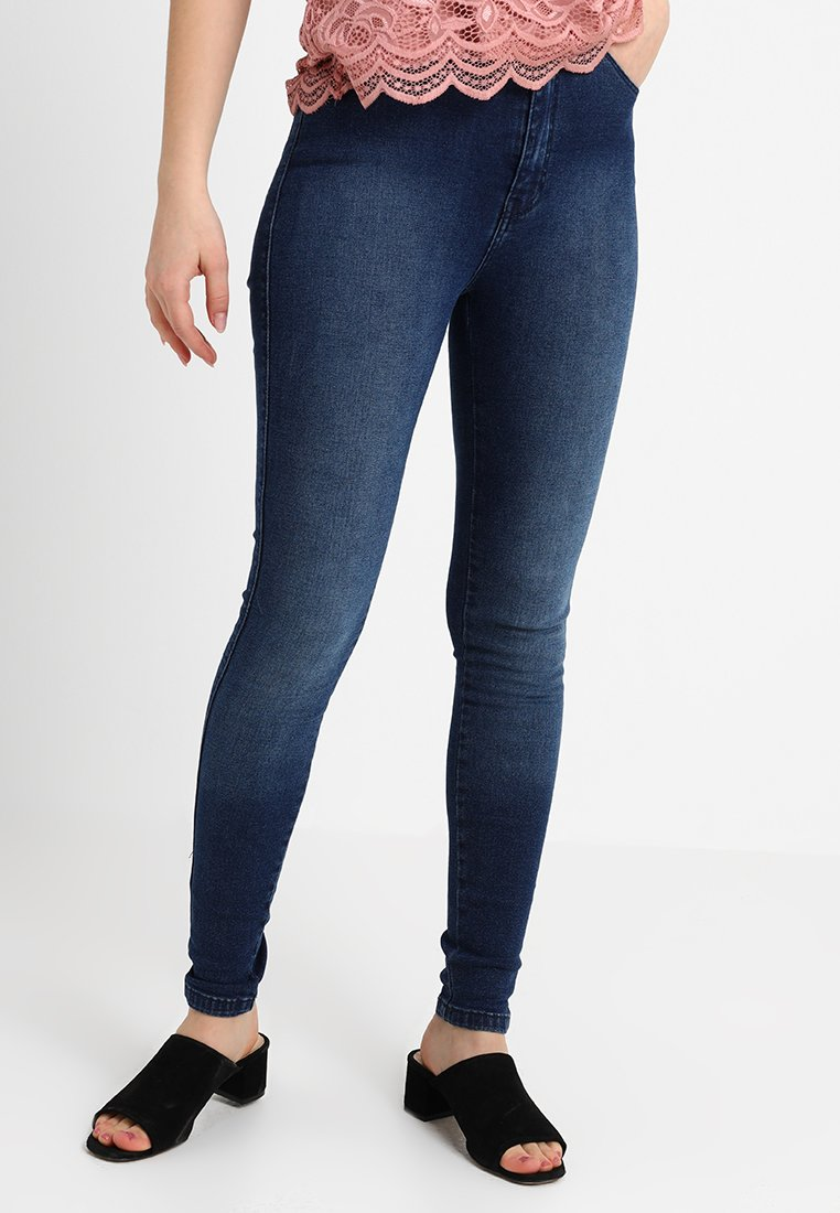 Dr.Denim Petite - MOXY HIGH RISE - Jeans Skinny Fit - blue used