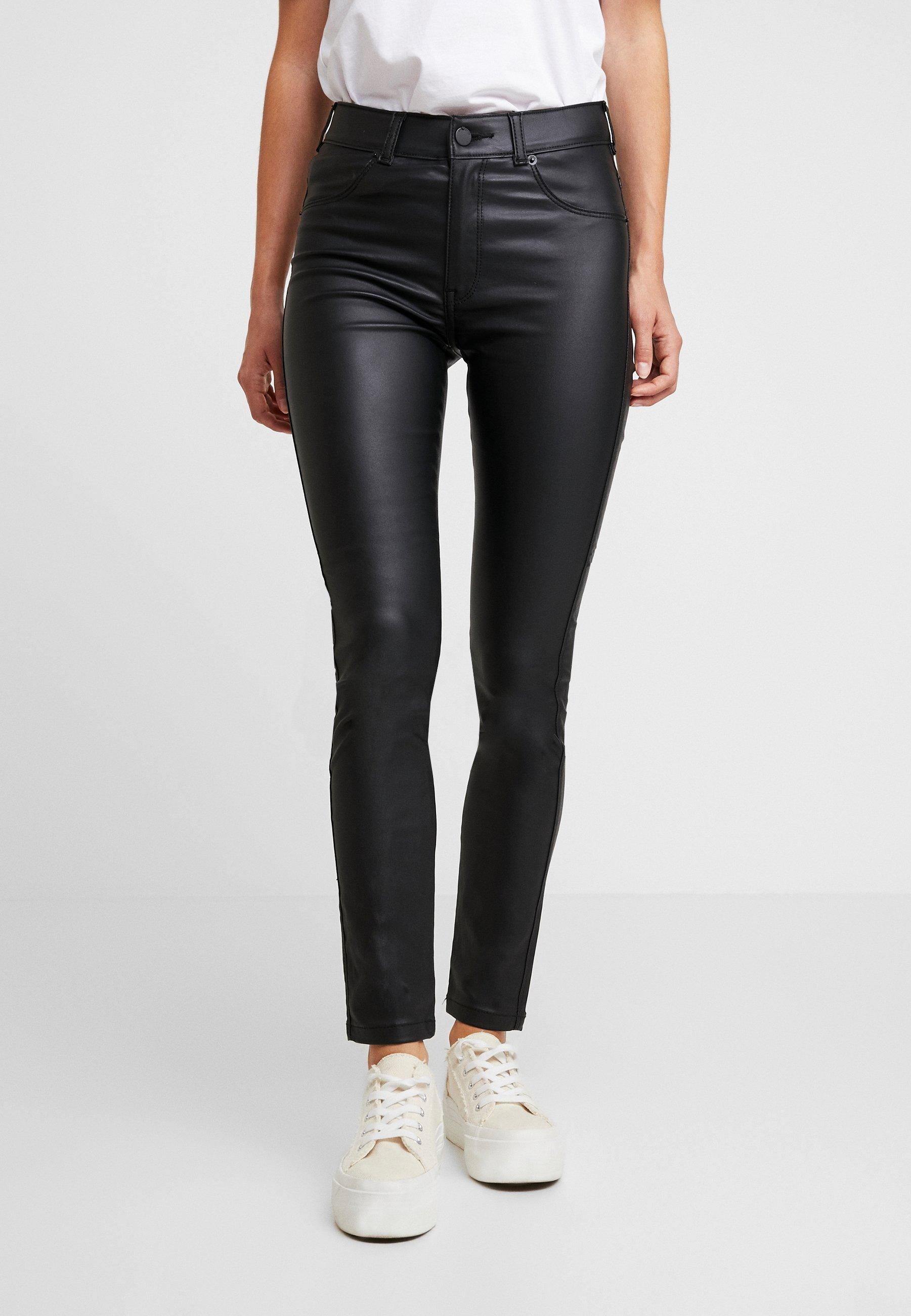 Dr.Denim Petite PLENTY - Jeans Skinny Fit black metal