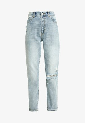 NORA - Jeansy Relaxed Fit - stone blue denim