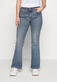 Dr.Denim Petite - SONIQ - Flared Jeans - west coast - 0