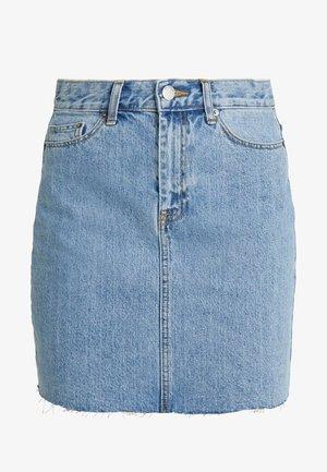 MALLORY - Denim skirt - light retro