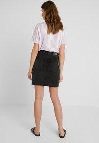 Dr.Denim Tall - MALLORY - Denim skirt - retro black - 2