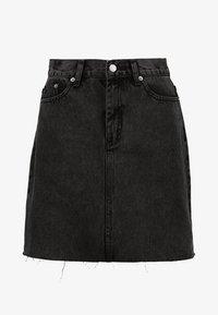 Dr.Denim Tall - MALLORY - Denim skirt - retro black - 4