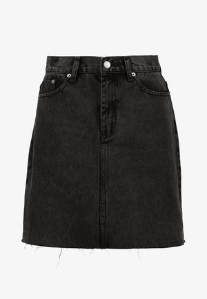 MALLORY - Jeansskjørt - retro black