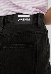 Dr.Denim Tall - MALLORY - Denim skirt - retro black - 5