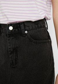 Dr.Denim Tall - MALLORY - Denim skirt - retro black - 3