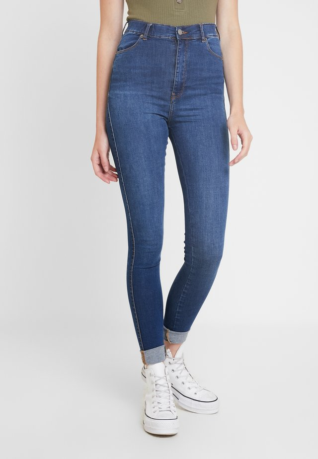 MOXY HIGH WAIST - Jeans Skinny Fit - atlantic deep blue