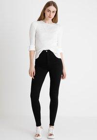 Dr.Denim Tall - MOXY HIGH WAIST - Jeans Skinny Fit - black - 1