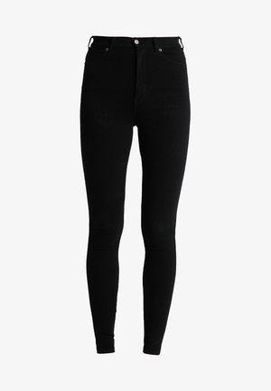 MOXY HIGH WAIST - Skinny džíny - black